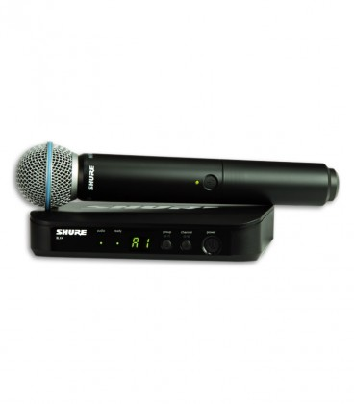 Sistema Microfone Receptor Emissor Completo Shure BLX24E B58 H8E