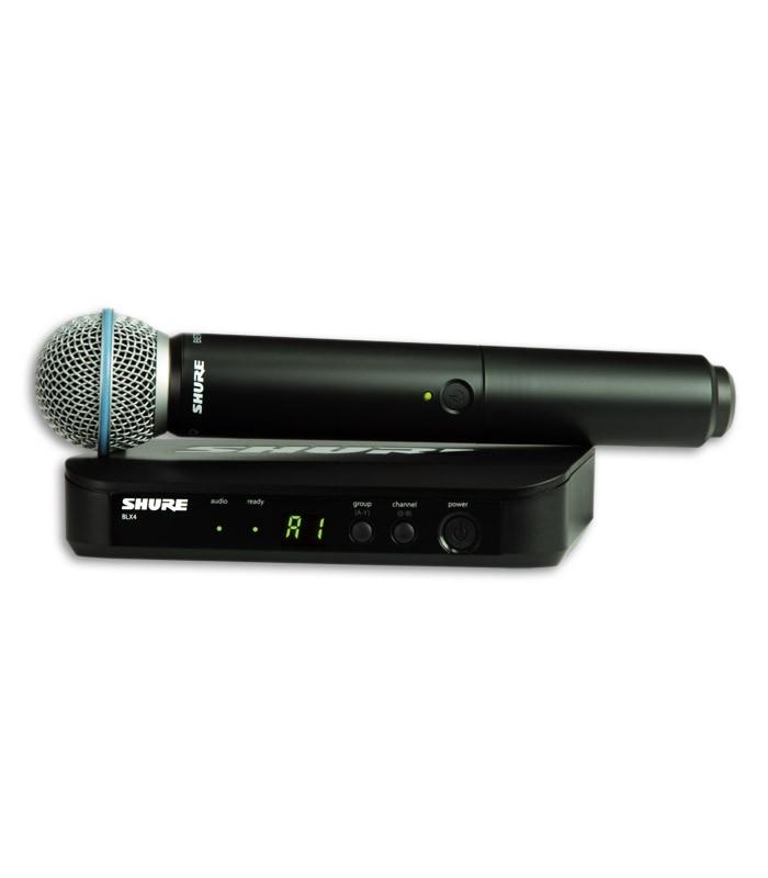 Sistema Microfone Sender Receiver Complete Shure BLX24E B58 H8E