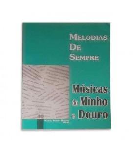 Livro Melodias de Sempre 40 Músicas do Minho e Douro por Manuel Resende