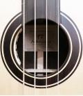 Acoustic Bass Guitar Deluxe Artimúsica 33133 rosette