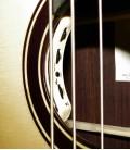 Baixo Acústico de Luxo Especial Pau Santo 4 Cordas com Estojo 33133