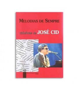 Livro Melodias de Sempre 43  José Cid por Manuel Resende