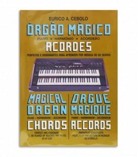 Book Eurico Cebolo OM AC Método Órgão Mágico Acordes