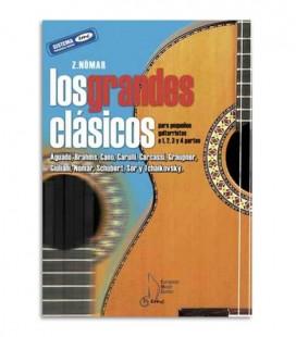 Livro Z Nomar Los Grandes Clásicos pra Guitarra Vol 3 EMC371003