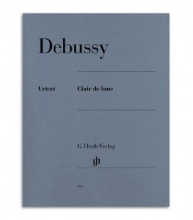 Libro Debussy Clair de Lune HN391