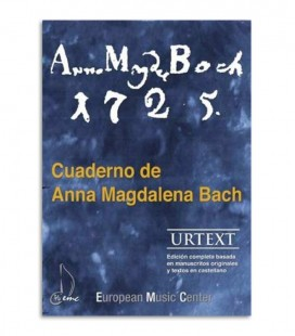 Livro Caderno Anna Magdalena Bach EMC341252