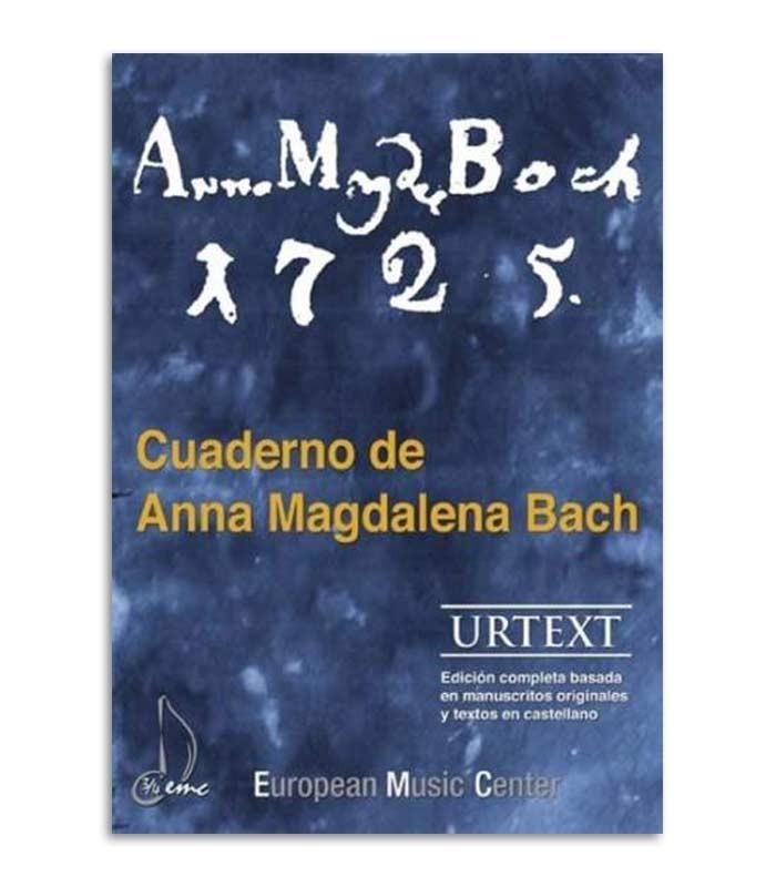 Libro Caderno Anna Magdalena Bach EMC341252