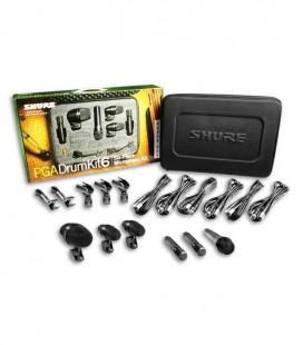 Kit 6 Microfones Shure SH Pgadrumkit6