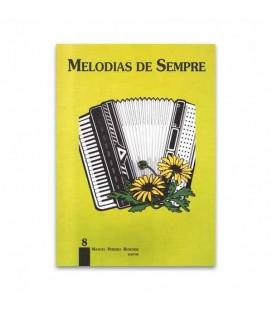 Libro Melodias de Sempre No 8 por Manuel Resende