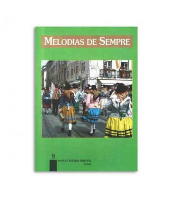 Libro Melodias de Sempre No 9 por Manuel Resende