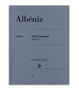 Libro Albeniz Suite Espanhola para Piano OP 47 HN783