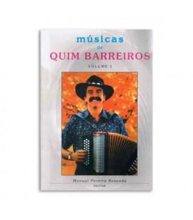 Livro Melodias de Sempre Quim Barreiros Volume 1