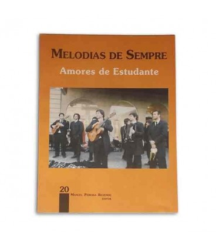 Libro Melodias de Sempre 20 por Manuel Resende