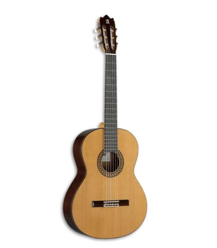 A Guitarra Clássica Alhambra 4P  é o modelo mais vendido entre todas as guitarras Alhambra