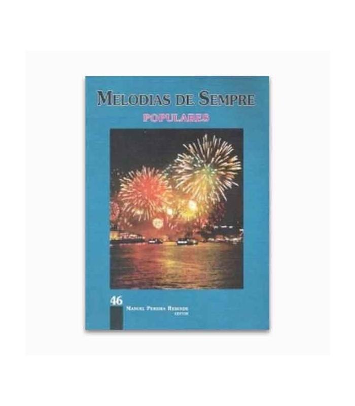 Livro Melodias de Sempre 46 Populares por Manuel Resende