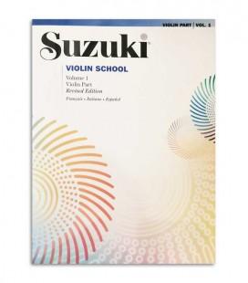 Livro Suzuki Violin School Vol 1 FR IT ES MB37