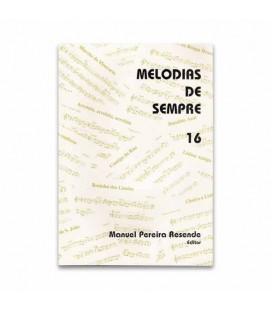 Libro Melodias de Sempre 16 por Manuel Resende