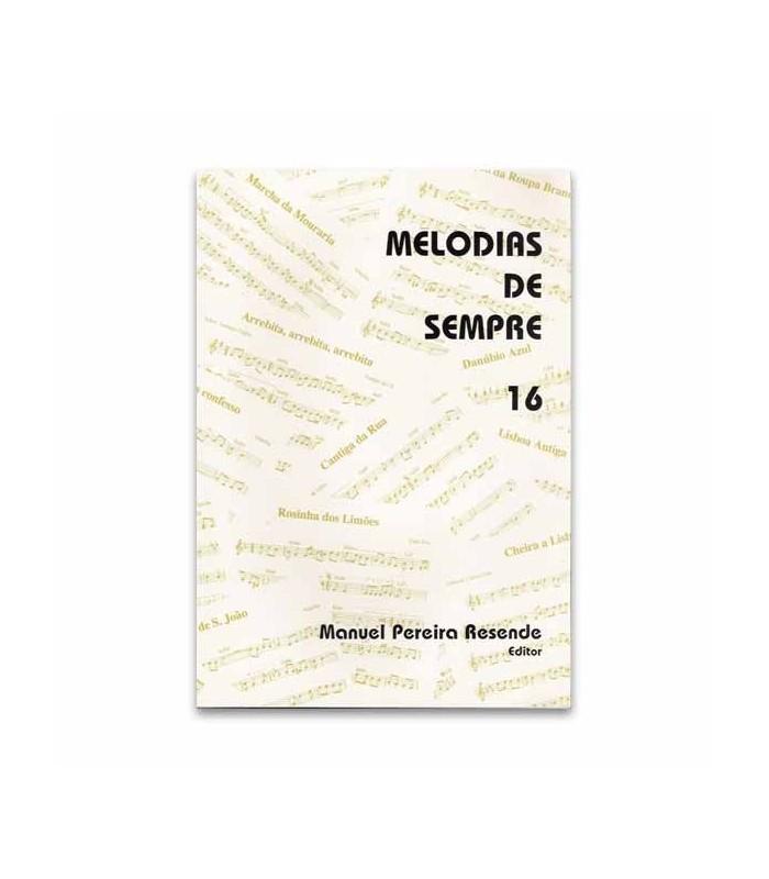 Livro Melodias de Sempre 16 por Manuel Resende