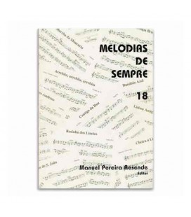 Libro Melodias de Sempre 18 por Manuel Resende