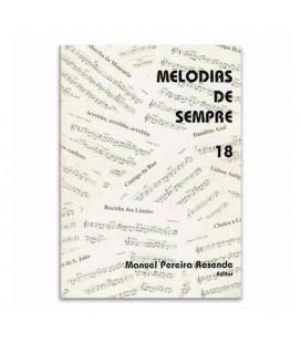 Livro Melodias de Sempre 18 por Manuel Resende