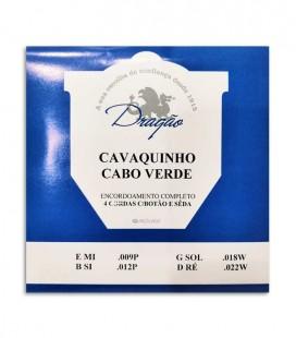 Jogo de Cuerdas Dragão para Cavaquinho de Cabo Verde