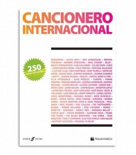 Libro Cancionero Internacional 250 Letras con Acordes MB6