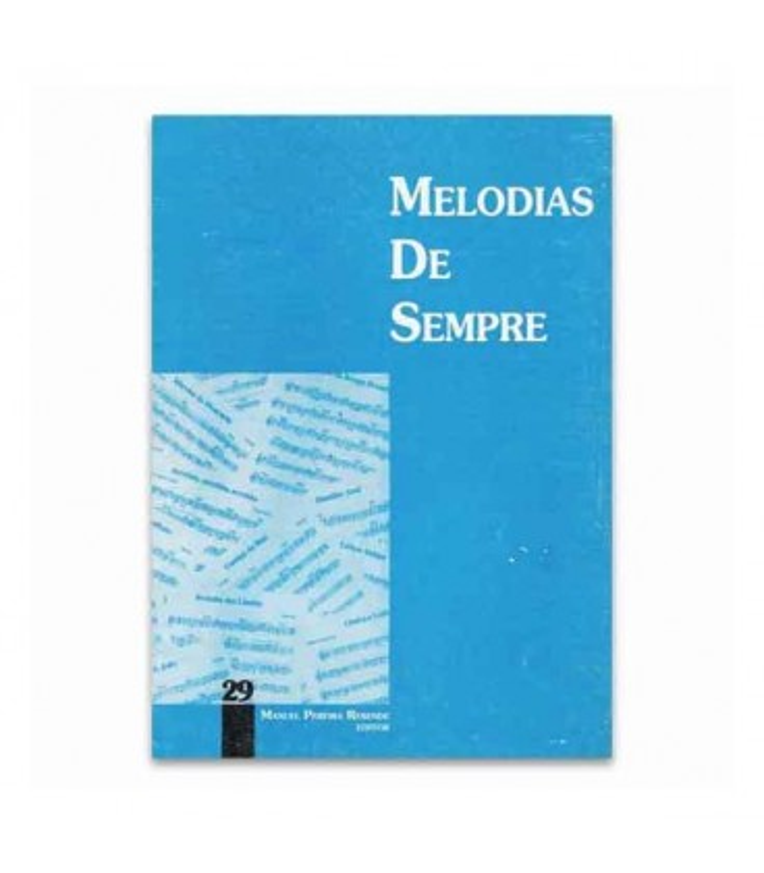 Libro Melodias de Sempre 29 por Manuel Resende