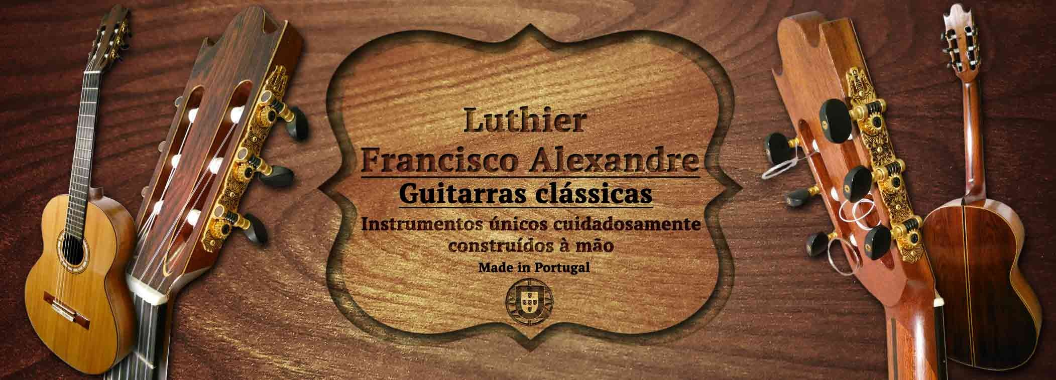 Guitarra clássica luthier Francisco Alexandre