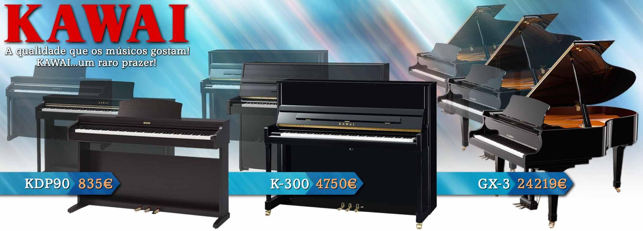 Pianos Kawai