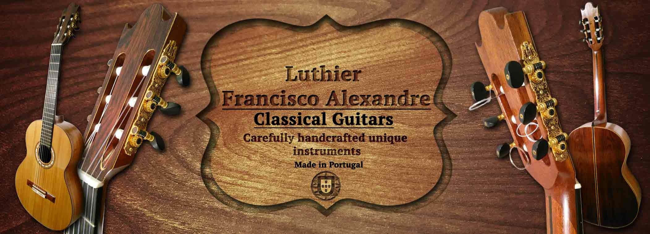 Classical Guita luthier Francisco Alexandre