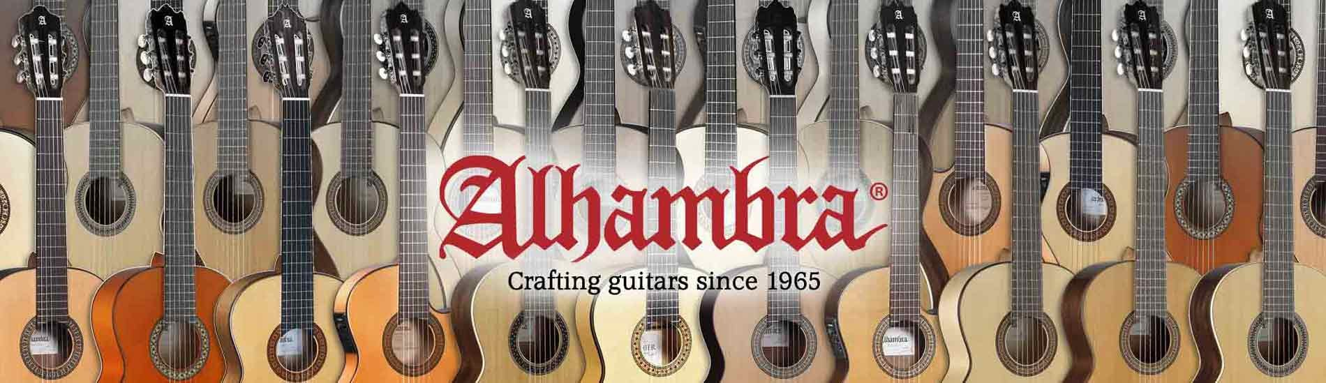 Alhambra guitars since 1965