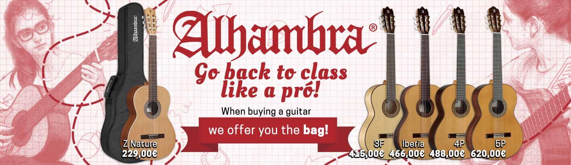 Alhambra - Go back to school like a pro!