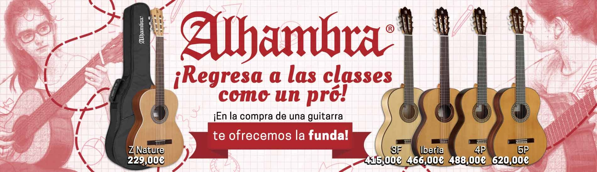 Alhambra - Regresa a las classes como un pro!