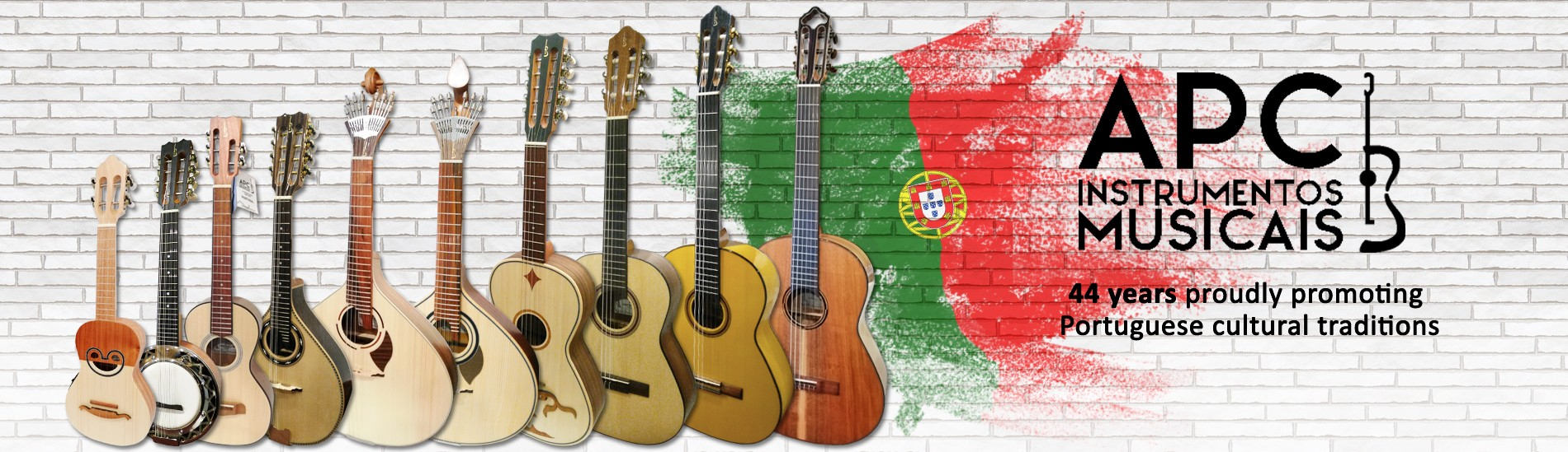 APC - Instrumentos Musicais - 44 years proudly promoting Portuguese cultural traditions
