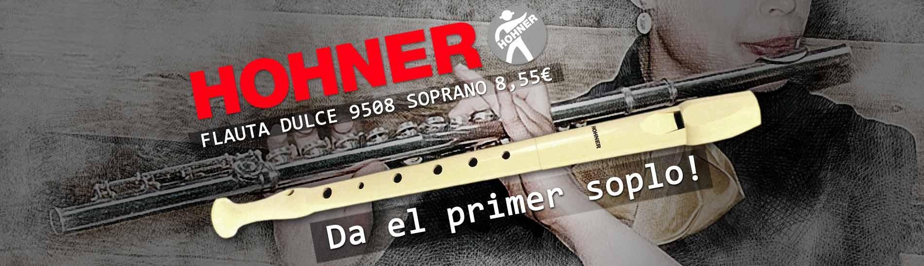 Flauta Dulce Hohner 9508 Soprano