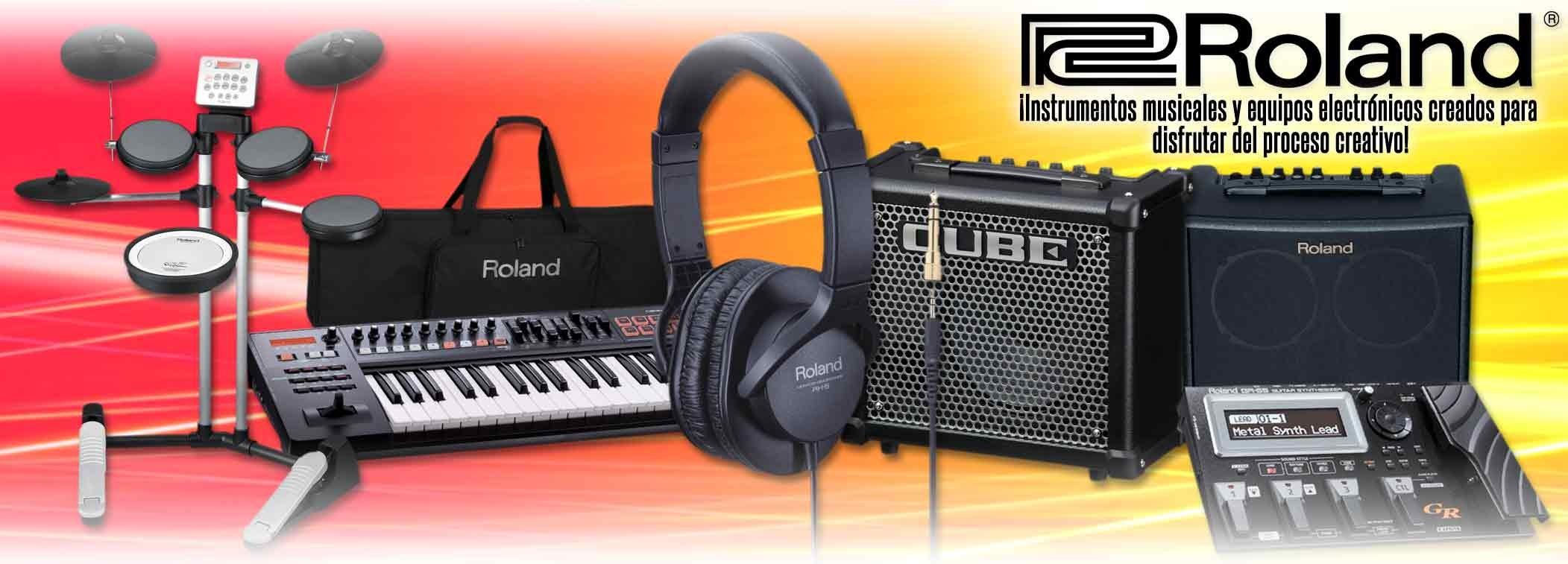 Roland - Instrumentos Musicales y Equipos Electrónicos Creados para Disfrutar del Proceso Creativo!