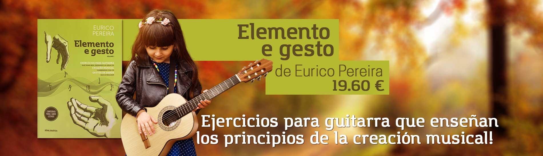 Libro Elemento e Gesto Vol 1 de Eurico Pereira