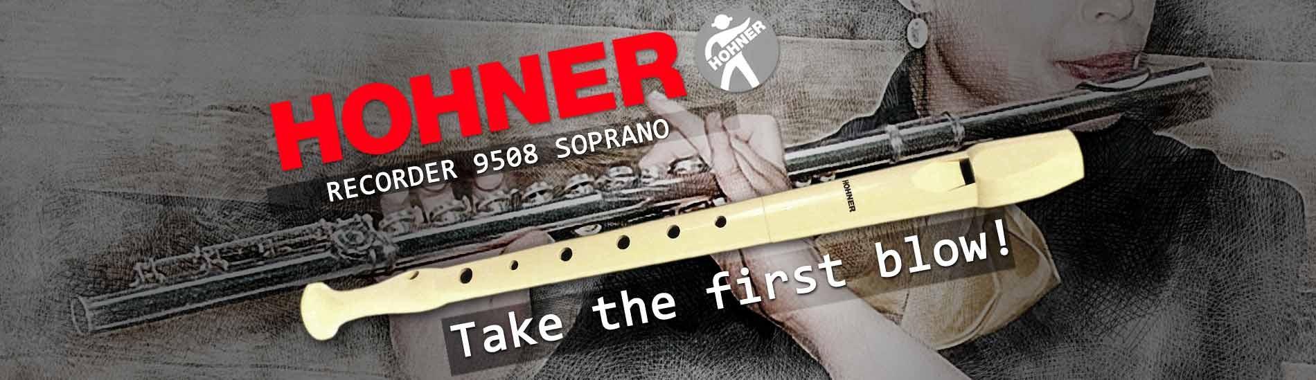 Hohner Soprano Recorder 9508