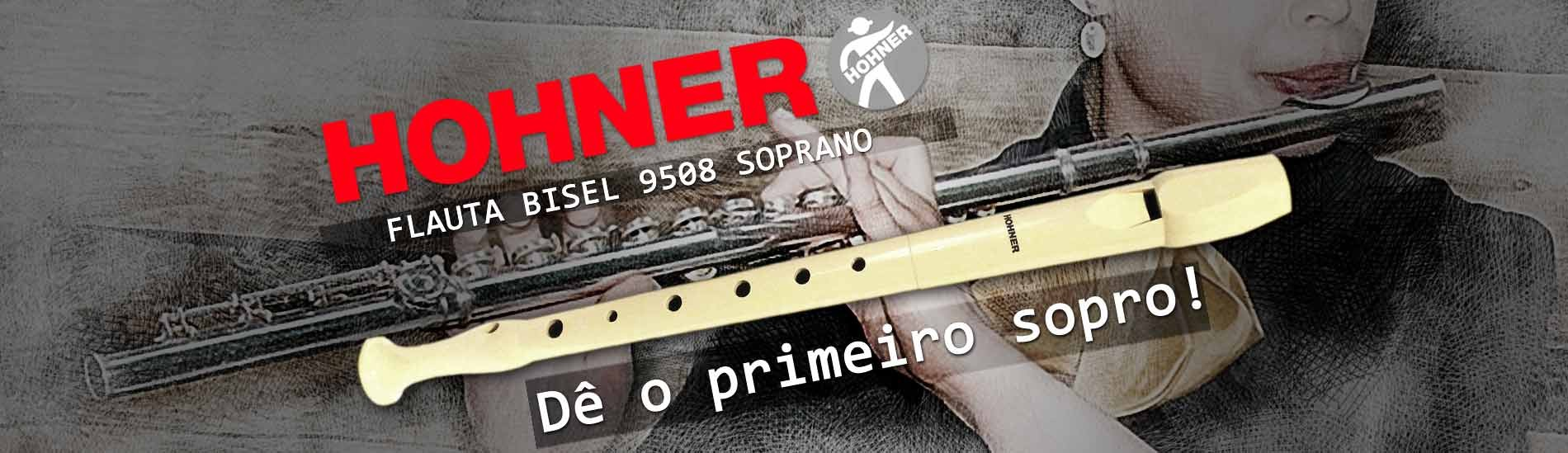 Flauta Bisel Hohner 9508 Soprano