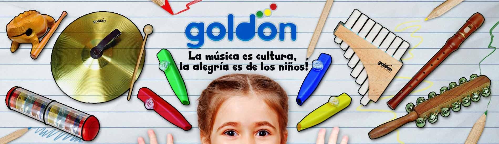 Instrumentos de iniciación musical (Orff) Goldon