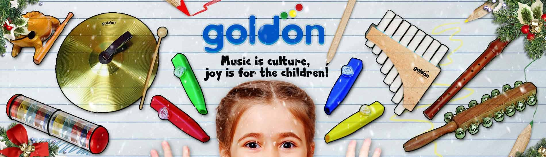 Goldon Musical initiation instruments (Orff)