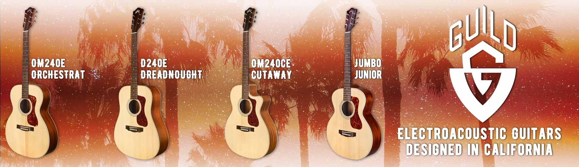 Guild Electroacoustic Guitars - Designed in California!