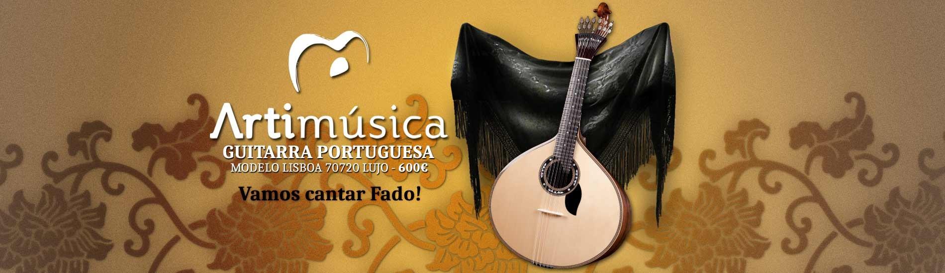 Guitarra Portuguesa Lisboa Artimúsica 70720 Lujo