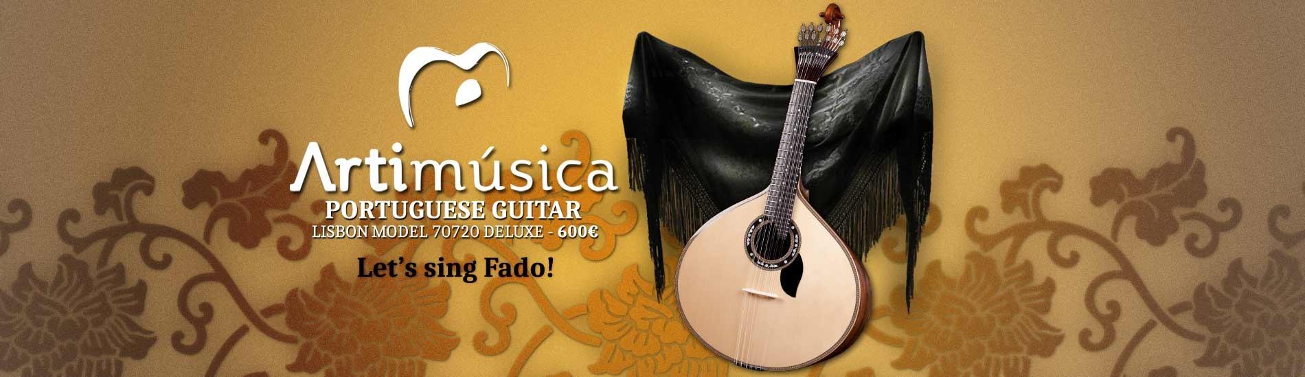 Artimúsica Lisbon Portuguese Guitar 70720 Deluxe