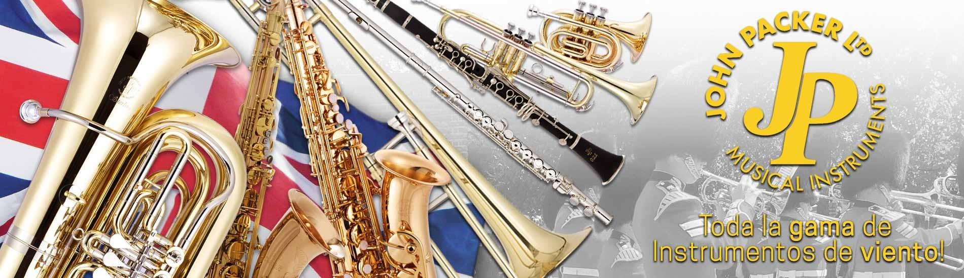Instrumentos de viento John Packer