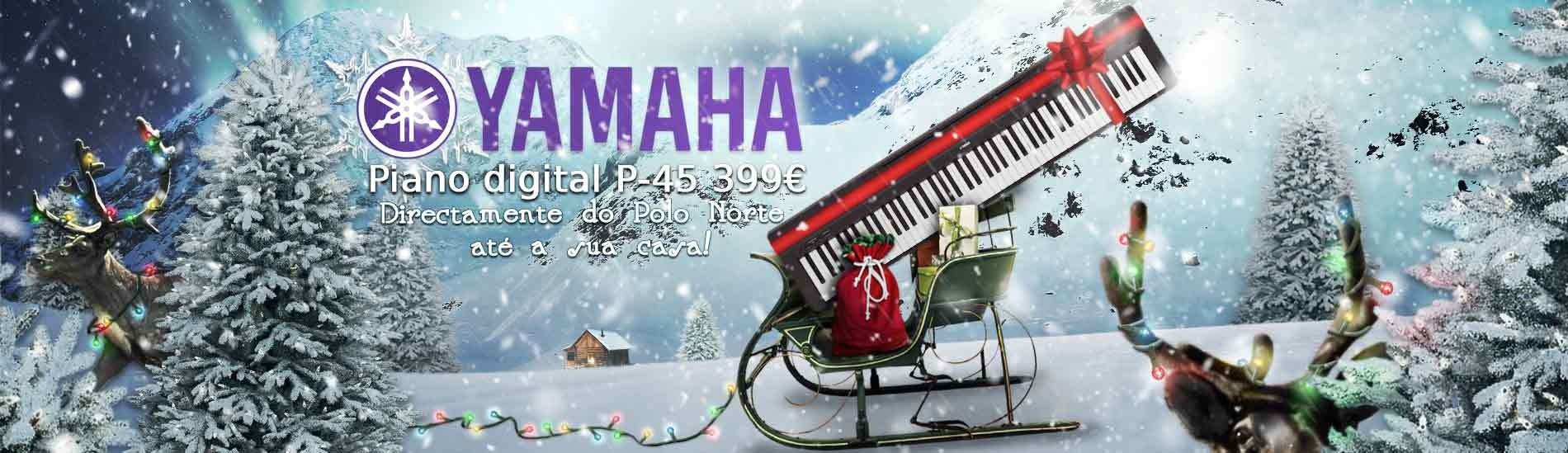 Piano Digital Yamaha P 45 88 Teclas
