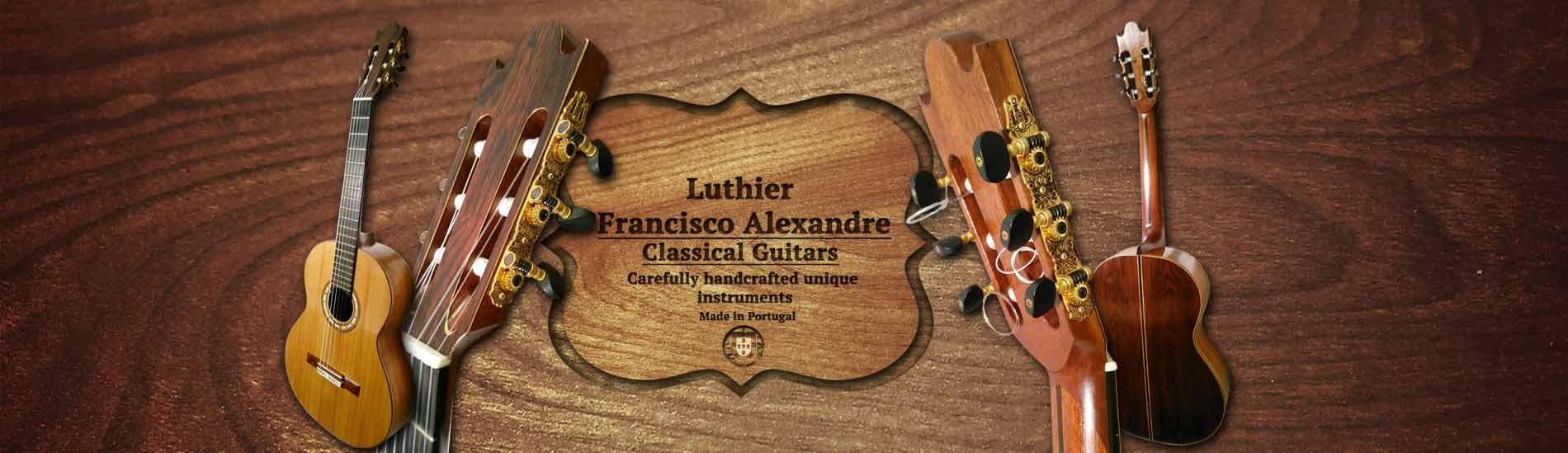 Luthier Francisco Alexandre guitar