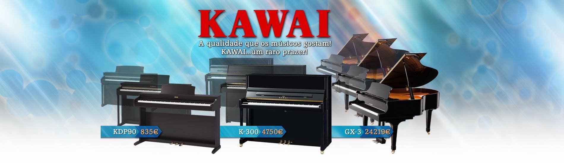 Pianos Digitais Kawai