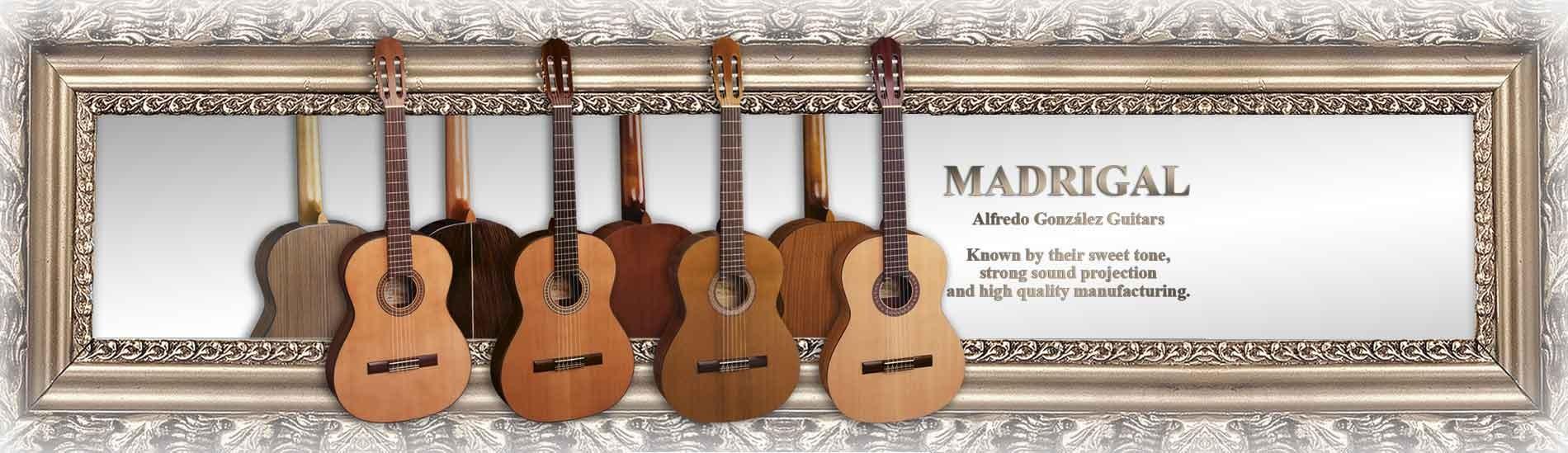 Madrigal classical guitars