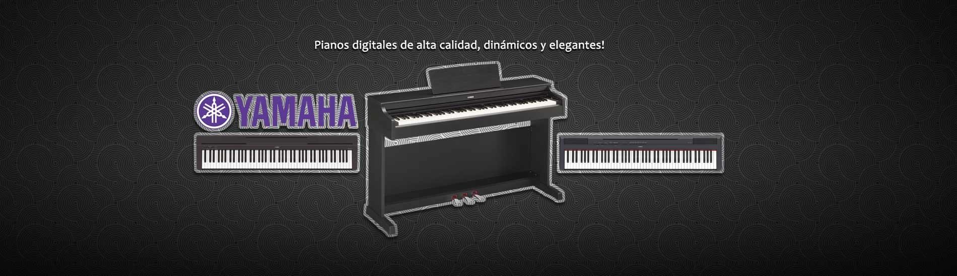 Pianos digitales Yamaha